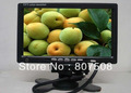 7 inch  In-Car TFT LCD Monitor with VGA function, for in car entertaiment car pc dvd cd car rearview monitor, free shipping