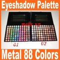 New 88 Metal Mania Eyeshadow Palette / 88 colors eyeshadow palette Free Shipping