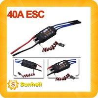 10pcs Electronic 40A Brushless ESC 5V BEC 4A UBEC Connector 30A 20A 10A 50A