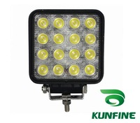 cheap shipping 18months warranty !10~30V 48W Auto high power LED work Light square light