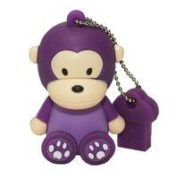 50units/lot  Cute cartoon sitting baby monkey usb pen drive flash with full capacity