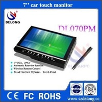 Car Headrest Monitor  with 800*480 HD LCD Screen /touch screen
