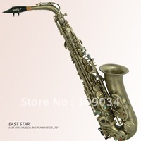 professional anqitue plated alto saxophone,vintage alto saxophone