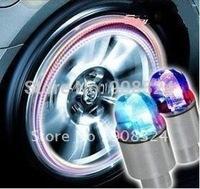 B Hot Selling 4Pcs/Lot Free Shipping Wholesale Led Auto Wheels Colour Wheel Cool Colours Car Wheel Light