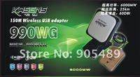 2012 kasens new Launch 60DBI panel Antenna RT3070 SMA connector wireless USB adapter Adaptador wifi usb 6000MW free shipping