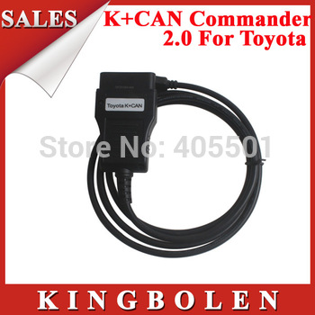 2014 High Quality TOYOTA K+CAN 2.0 Commander 2.0 USB Key Programmer Free Shipping
