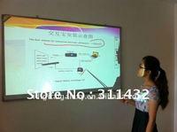 free shiping, portable electronic interactive whiteboard i-Interactor (i-Cam & i-Pen) DG-100 for education + a free long pen