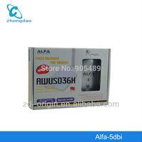 ALFA AWUS036H 1000MW WIFI USB Adapter 5DB Antenna Ralink3070 Chipset Free Shipping Dropshipping