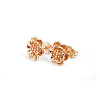 HOT SALE 18k Gold Plated Stud Earrings For Women Gift Fashion Free shipping (E18K-27)