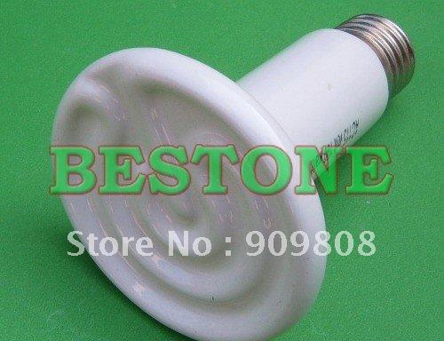 Promotion 8pcs 220v 100w Flat-type Infrared Ceramic heat lamp infrared bulb Pet heat lamp light (Reptile/pet/amphibian/poultry)(China (Mainland))
