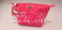 24pcs/lot Free shipping Wholesale New Fashion Hello Kitty cosmetic bag/case,purse,cartoon bag/wallet,PU bag,0035