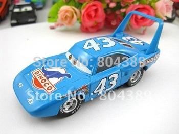 100% original ---  #43 THE KINGP  Pixar Cars diecast figure TOY New # 44  free shipping