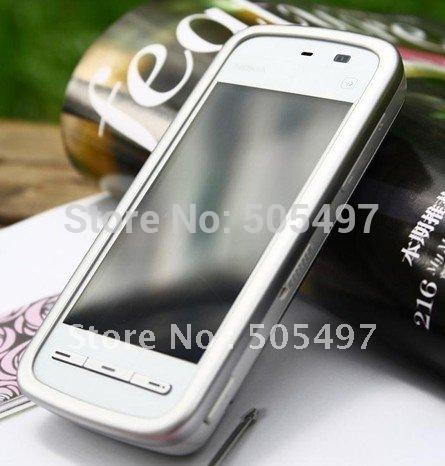 3pcs/Lot Refurbished Original NOKIA 5233 mobile phone,GSM,3.2inch touch screen,2.0MP Pix camera,Free shipping(China (Mainland))