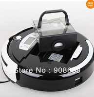 4pcs/Robotic  Vacuum Cleaner With Larger Dust Bin Box +China Original +UV lights +CE&ROHS+Free Shipping