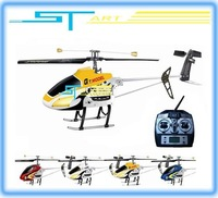 Free Shipping QS9012 helicopter 2.4G 3.5ch single blade metal gyro RTF QS 9012 rc helicopter W/  LCD Remote control ready to fly