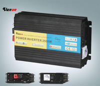 2500W 12V dc to 220V ac Pure Sine Wave Power Inverter  (5kw peak power) Free shipping