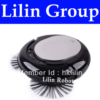 (Free to Russia) 3 In 1 Mini Robot Vacuum Cleaner (Vacuum,Sweep,Mop),2 Side-brushes,Adjustable Anti-cliff Sensor,3 Working Modes
