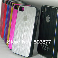 for iphone 4S case, Electroplating processing, luxury quality mix colors free shipping(China (Mainland))