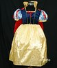Free Shipping - GIRLS HALLOWEEN  DELUXE SNOW WHITE PRINCESS DRESS COSTUME 6-8 K70