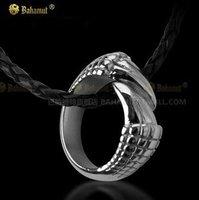 Dragon Tail Dragon Talon Titanium Steel Ring Pendant Free With Chain Men's Jewelry