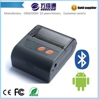 2014 Hot Android Bluetooth Printer Supports Bar code, QR code, Image Printing with CE, FCC, Rohs Certificate