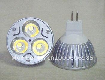 Hot sale!Free shipping!30PCS/LOTS energy saving lamp low carbon 3*1W LED Bulb spot light E27/GU10/MR16/E14/GU5.3/B22