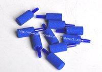 Free shopping,120pcs Air stone ,13*25MM blue Aquarium oxygen diffuser/Air diffuser/ Bubble stone/Corundum Air stone
