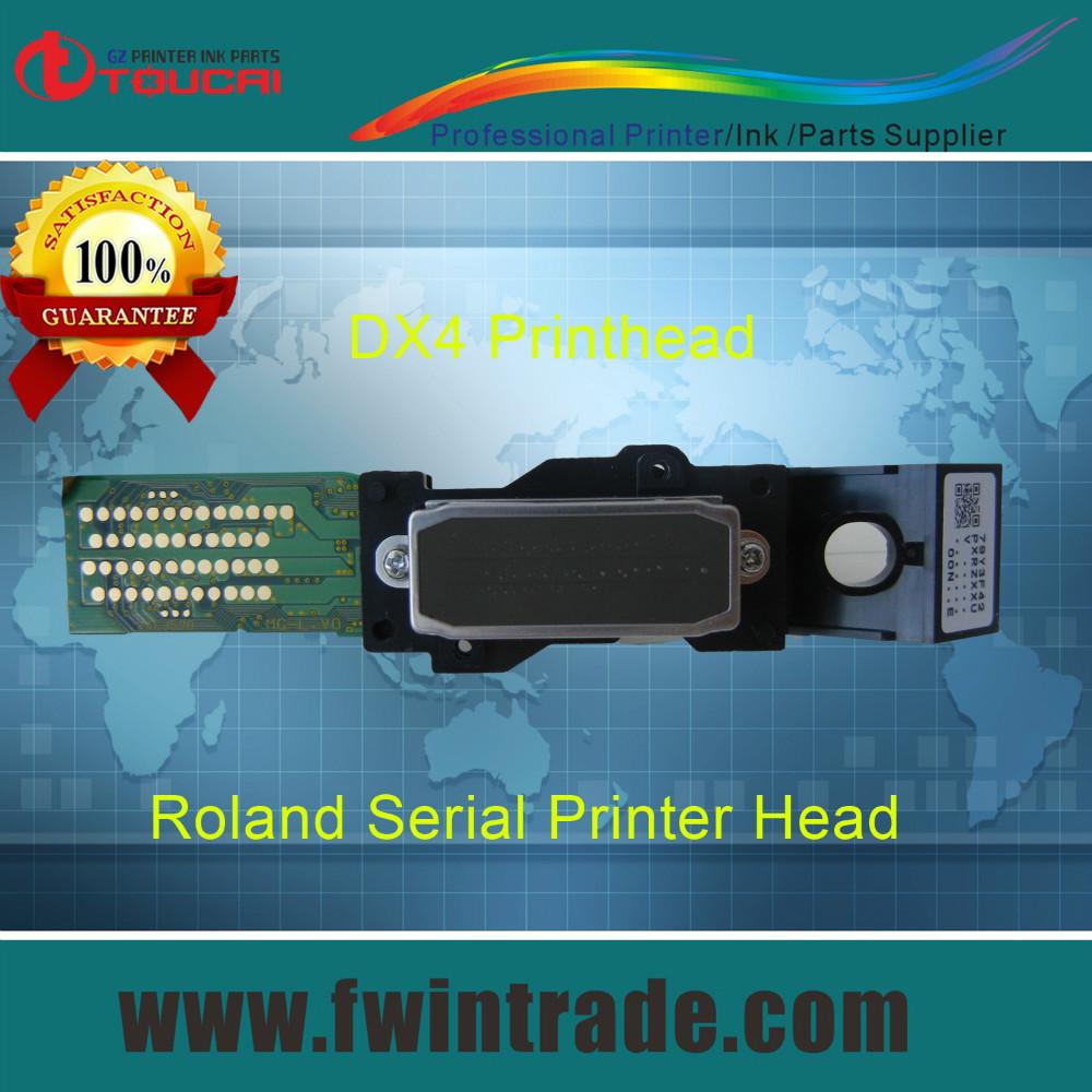 10pcs 40cm data cabe free solvent dx4 head for roland rs/xj/sc/sp/vp/xc/sj/fj 540/640/740 mimaki jv3 printer dx4 printhead(China (Mainland))