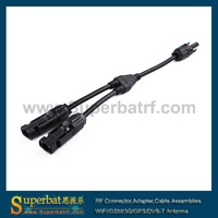 MC4 Branch Y connectors and adaptors Solar cable