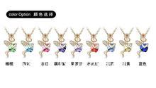 Retailing Min order is 15 mix order K086 13 48 singular element crystal necklace Angel Cupid