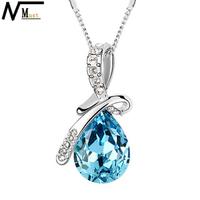 MT JEWELRY High Quality Brand New Christmas Jewelry Created Gemstone Necklace