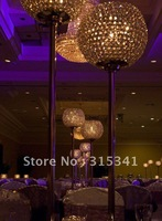 8pcs /lots crystal wedding centerpiece +free air shipment