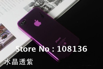 0.35mm ultra thin case for Iphone 4 cell phone shoes soft clear cover gps jeans bag guitar lcd tablet guitar handbag watch