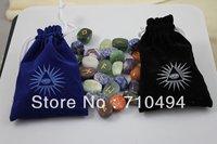 runestone, viking divination stone, semi-precious rune stones free shipping