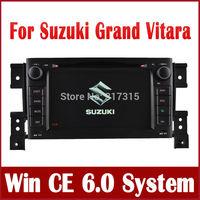 In Dash Car DVD Player for Suzuki Grand Vitara with GPS Navigation Radio Bluetooth TV Map SWC USB AUX Video Stereo Audio Sat Nav