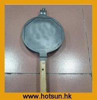 """New 8"""" Stove Top Hongkong Eggettes Egg Waffle Pan"""