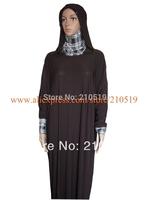 YA007 NEW 2014 plain brown navy blue black Intermingle Yarn two choices hijab abayas