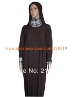 YA007 NEW 2014 plain brown navy blue black Intermingle Yarn two choices hijab abayas