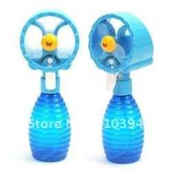 Free shipping ,2012 Novelty,Water Spray Fan ,Summer Cool Water Mini Fan, Pocket Water Spray Fan,cooling you(China (Mainland))