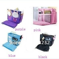 hot-sale women handbag organizer bag, cosmetic bag organizer, purse bag organizer for sundries sample women messenger bags