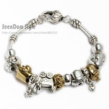 wholesale heart silver bracelet