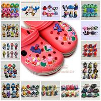 Free-shipping! 1000pcs/bag pvc shoe charms/pvc shoe decoration/fashion  shoe accessories