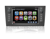 car dvd gps for  Audi A6 S6 RS6 with canbus, steel wheel control, ipod bluetooth, tv, radio, pip, 6vcd, 3g usb port, all in one