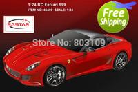 Free shipping rastar 1:24 radio remote control 599 1/24 rc car 46400