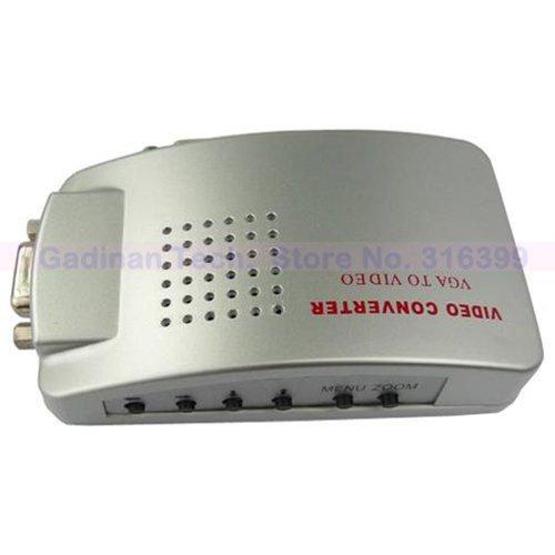 PC VGA to TV AV Composite RCA S-Video Adapter Converter Box (Supports NTSC/PAL )(China (Mainland))