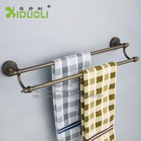 Xiduoli Free shipping Wall Mount Antique Double Towel Bar XDL-12602