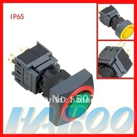 16mm electric momentary  pushbutton switch 1NO+1NC