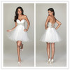 2013 Sexy New Fashion Designer Sweetheart Sequin Organza Mini Cocktail Dresses OS28192