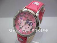 Hot Sale 25PCS Hello Kitty Children's Gift wrist watches 5722