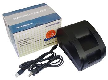 New mini 58mm thermal receipt printer ticket pos 58 thermal printer USB(black/white)